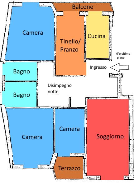 Pistoia ovest nuova ultimo piano ascensore posto auto - Immobile classe g ...